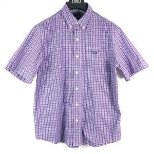 Chaps Easy Care Button Down Short Sleeve Shirt